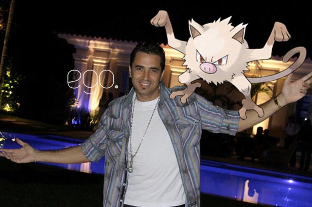 Celebridades e seus Pokémons (Foto: Reprodução)