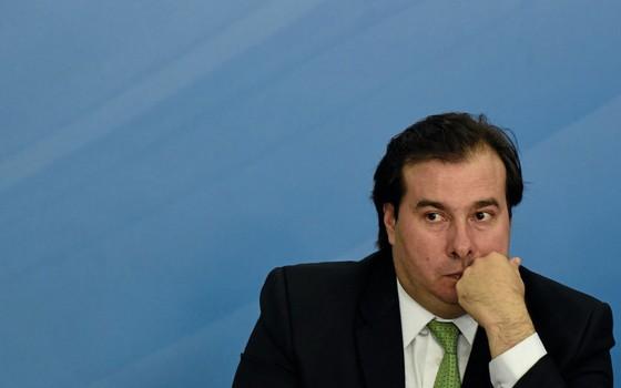 Presidente da Câmara, Rodrigo Maia (Foto:  )