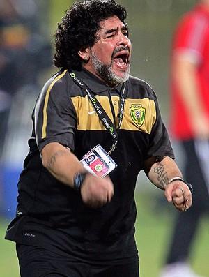 Maradona Al Wasl (Foto: Agência EFE)