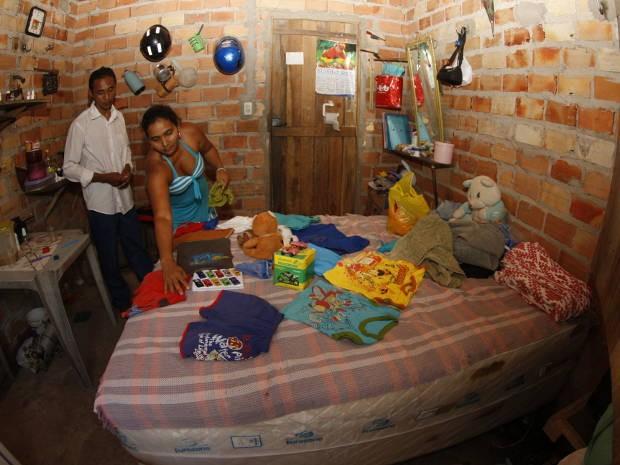 Pais do menino e familiares garantem que crianças reagiu durante o velório (Foto: Tarso Sarraf/ O Liberal)
