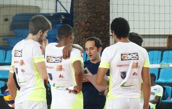 Técnico do JF Vôlei prega ousadia na estreia do Mineiro diante do Cruzeiro