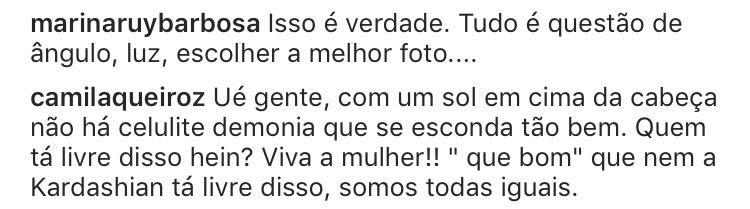 Camila Queiroz e Marina Ruy Barbosa (Foto: Reprodução/Instagram)