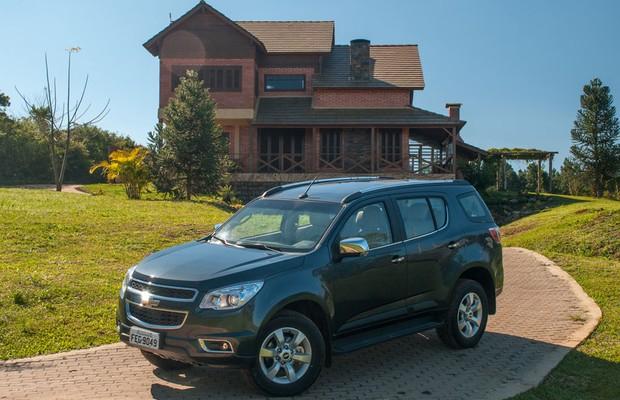 Chevrolet Trailblazer 2014 (Foto: Divulgação)