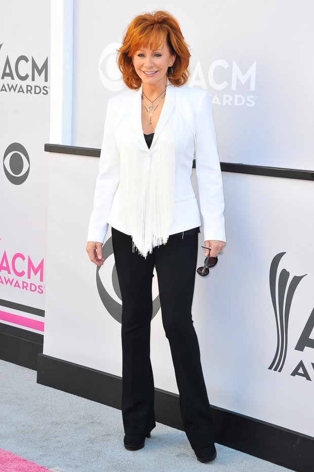 Reba McEntire no American Country Music Awards (Foto: Getty Images)