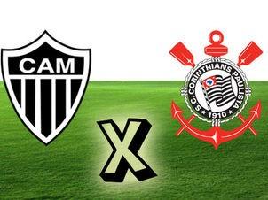 Atlético MG x Corinthians (Foto: Arte/TV Liberal)