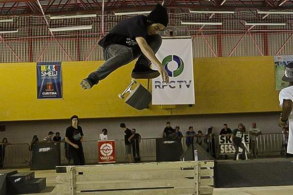 Final do Circuito Amador de Skate (Foto: Euricles Macedo/RPC TV)