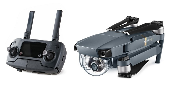Drone é compacto e pode ser montado com facilidade (Foto: Divulgação/DJI)