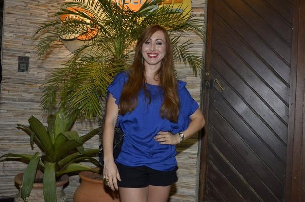 Ex-BBB Aline em festa no Rio (Foto: Roberto Teixeira/ EGO)