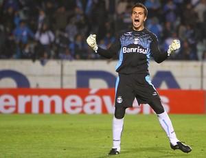 Marcelo Grohe completa cem jogos pelo Grêmio (Foto: Lucas Uebel, Divulgação/Trato.TXT)