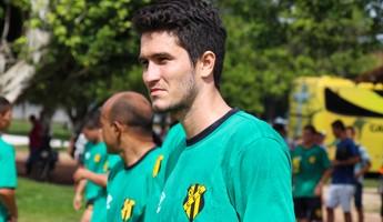 Paulo André novo reforço Castanhal (Foto: Ascom Castanhal)