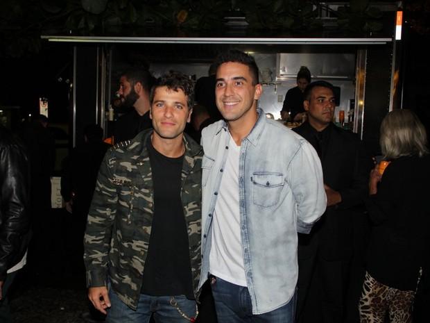 Bruno Gagliasso e André Marques em evento no Rio (Foto: Rodrigo dos Anjos/ Ag. News)