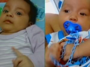 Crianças foram encontradas mortas após desaparecerem de Uberaba (Foto: Reprodução EPTV)
