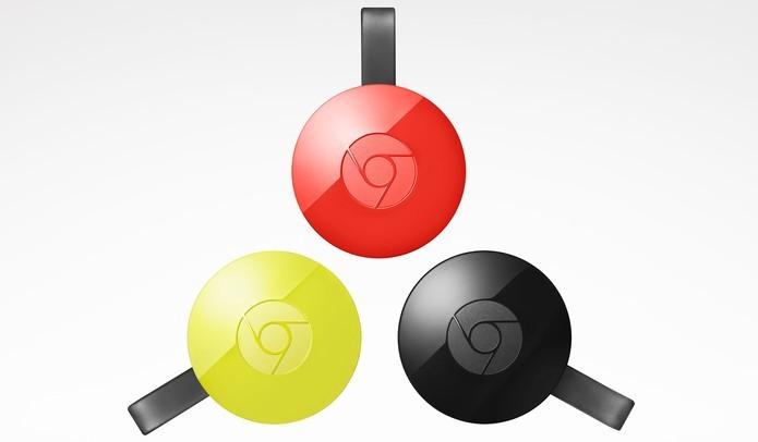 Novo Chromecast tem design remodelado (Foto: Divulgação/Google) (Foto: Novo Chromecast tem design remodelado (Foto: Divulgação/Google))