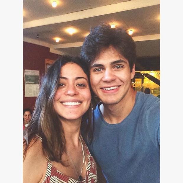 Carol Castro com Lucas Veloso (Foto: Instagram/Reprodução)