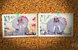 Daniel Rocha se fantasia de elefante para recriar fotografia