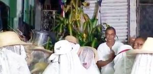 Cortejo festeja mulheres que atuaram na luta pela independência (Reprodução/TV Bahia)