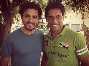 Rui Ricardo Diaz e César Mello (Foto: Arquivo pessoal)