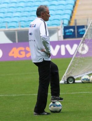 Tite Corinthians Treino Porto Alegre (Foto: Tomas Hammes Rodrigues)