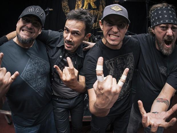Banda Raimundos se apresenta no Sesc Piracicaba  (Foto: Patrick Grosner)