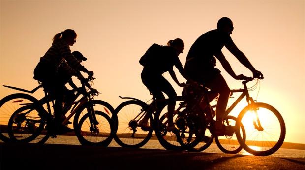 Ciclistas: empresas aproveitam para vender serviços e aplicativos  (Foto: Divulgação)