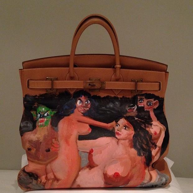 Bolsa de Kim Kardashian (Foto: Instagram / Reprodução)