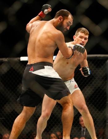 Stephen Thompson Johny Hendricks UFC MMA (Foto: Getty Images)