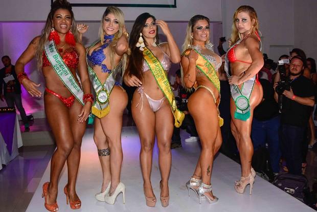 Campeãs Miss Bumbum 2015 (Foto: Leo Franco / AgNews)
