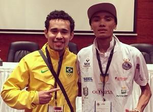 Taekwondo, Venilton Torres assegura o bronze no Alexandria Open no Egito (Foto: (Reprodução/Facebook))
