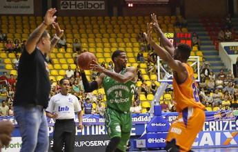Com o verde da Chape, Mogi vence a LSB em jogo equilibrado pelo NBB