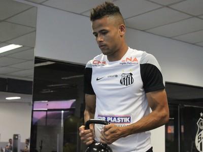 Geuvânio Santos (Foto: Vitor Pajaro / Santos FC)