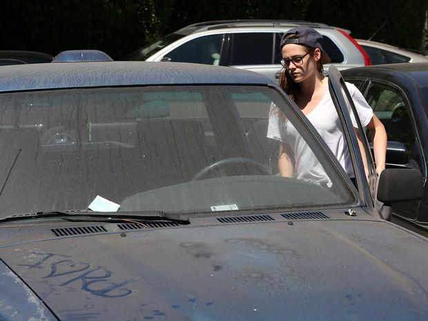 X17 - Kristen Stewart em Los Angeles, nos Estados Unidos (Foto: X17/ Agência)