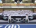 """Eficiência na """"produção caseira"""" é pilar da Mercedes para manter hegemonia"""