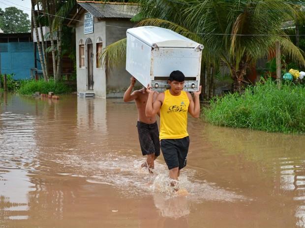 Bairros Hospitalidade, Remédios I e Provedor foram os mais atingidos (Foto: Del Barbosa/Ascom Santana)