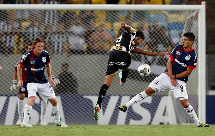 Wallyson gol, Botafogo x San Lorenzo (Foto: Reuters)