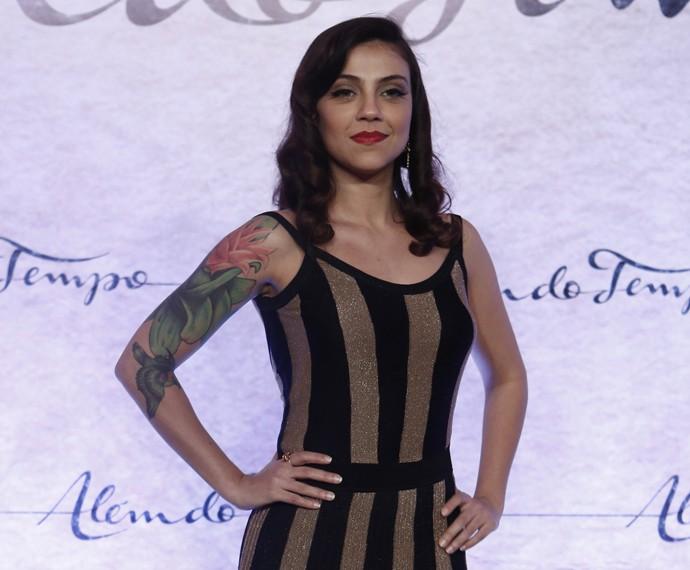 Letícia Persiles conta o significado de sua tatuagem  (Foto: Inácio Moraes/Gshow)