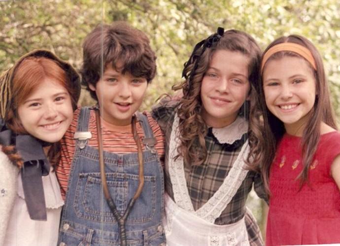 Luma também fez parte do elenco do Sítio do Picapau Amarelo (Foto: Arquivo Pessoal)