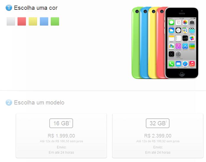 Apple pode lançar novo 5C mais barato (Foto: Thiago Barros/Reprodução)