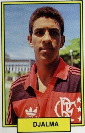 Djalminha, Flamengo (Foto: Reprodução/Albúm de Figurinhas)
