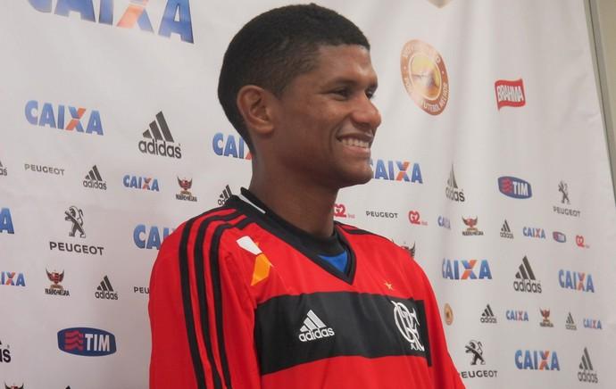 Apresentação Márcio Araújo Flamengo (Foto: Thales Soares)