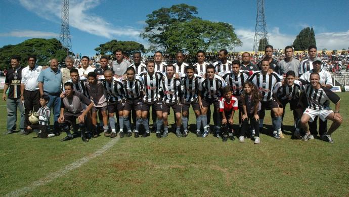 Araxá Esporte 2007 Campeão da Segunda Divisão (Foto: Alcino de Freitas/Arquivo Pessoal)