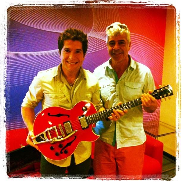 Daniel Lulu Santos guitarra (Foto: Reprodução/Instagram)