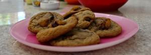 Cookie de banana é opção criativa (Sérgio Rodrigues/ G1 AM)