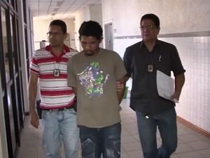 Procurado há 4 anos, suspeito de estuprar 15 mulheres é preso na Bahia (Foto: Reprodução/TV Sudoeste)