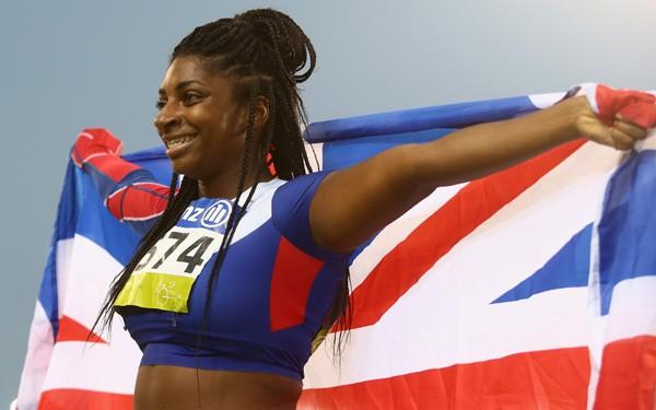 Kadeena Cox, atleta britânica, competirá em duas modalidades: atletismo e ciclismo (Foto: Getty Images)