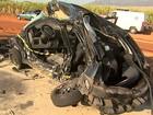 Casal morre e homem fica ferido em colisão entre veículos em Serrana, SP