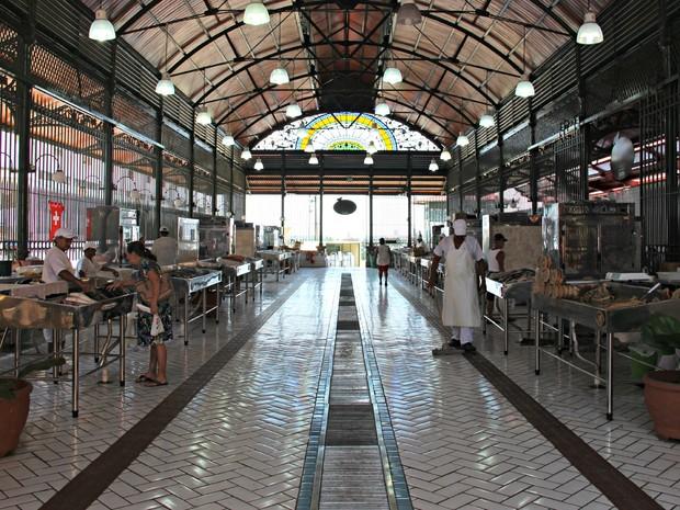 Local foi reinaugurado há um ano, após sete anos fechados (Foto: Camila Henriques/G1 AM)