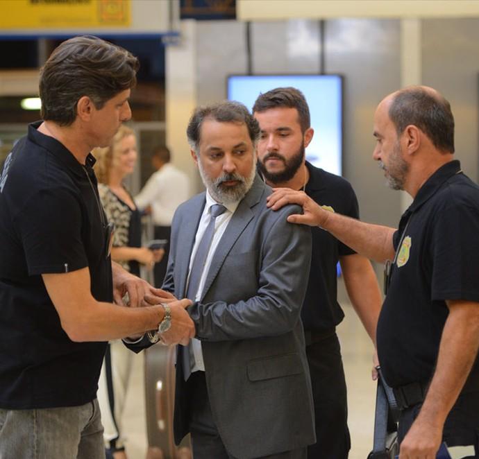 Delegado Fonseca vai preso (Foto: Pedro Carrilho/ Gshow)