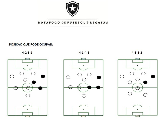 relatrio de contratao do Botafogo (Foto: Anlise e estatstica do BFR)