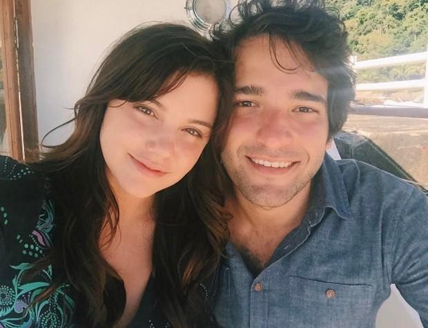 Alice Wegmann e Humberto Carrão (Foto: Reprodução/Instagram)