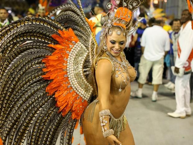 Jéssica Lopes, que ficou conhecida como a 'peladona de congonhas' (Foto: Raul Zito/G1)
